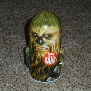 Star Wars(Chewy) Coin Bank NEW